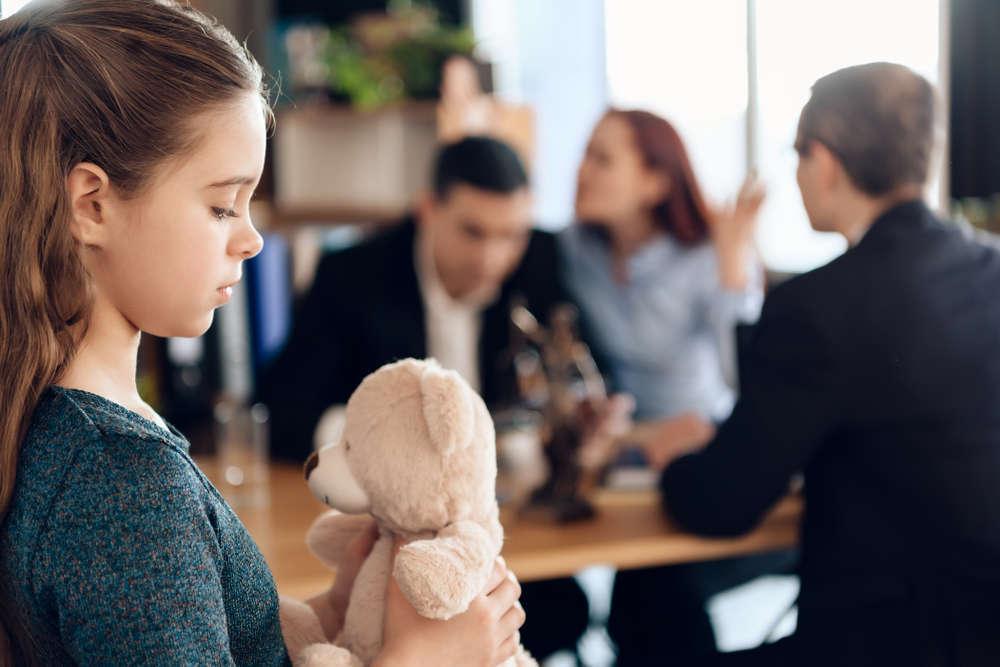Divorcio y manutención de los hijos e hijas
